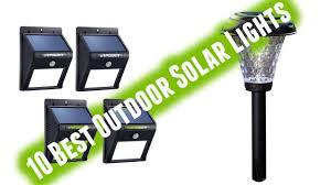Best Outdoor Solar Lights Best Outdoor Solar Lights 2017 Youtube