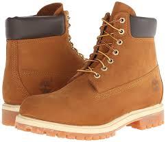 timberland 6in premium ftb 6in boot men u0027s boots brown rust orange