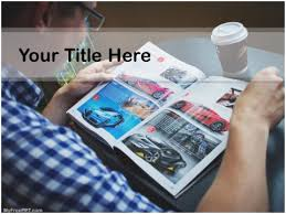 free car magazine ppt template download free powerpoint ppt