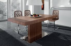 contemporary wood dining tables dining room modern wooden dining