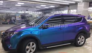 jeep grand cherokee vinyl wrap purple u0026 blue pearl gloss chameleon vinyl wrap film with air