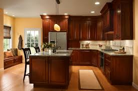 warm kitchen colors for cherry cabinets kutsko kitchen