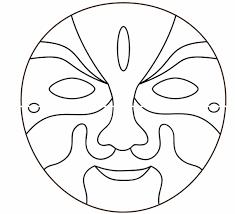 masks clipart plain pencil and in color masks clipart plain