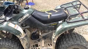 2004 suzuki ozark 250cc review youtube