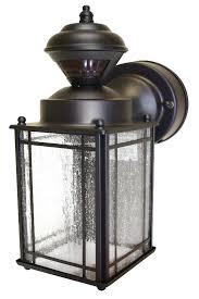 Outdoor Light Fixtures With Motion Sensor Outdoor Light Fixtures With Motion Sensor Bronze Motion