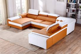 white leather sectional sofa with chaise sofas center casa t366 modernge white leather sectional sofa