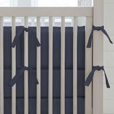 solid navy crib skirt gathered carousel designs