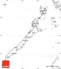 Uae Blank Map blank simple map of palawan