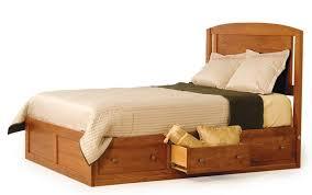 Platform Bed Drawers Amish Modern Platform Storage Bed From Dutchcrafters