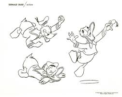 how to draw donald duck pages from one of the old disneyland art
