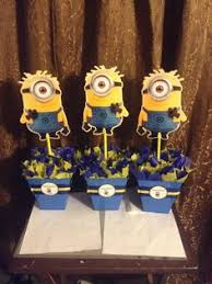 minions centerpieces minion centerpieces search party ideas