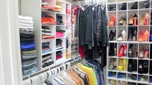 how to organize shoes in small closet with wooden box storage and