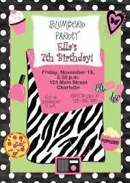 sleepover party invites pin by kelly byers on birthday pinterest slumber party
