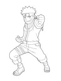 naruto coloring pages print kids coloring
