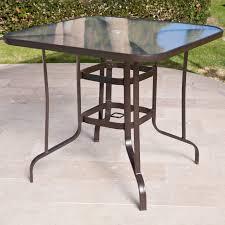 outdoor bar height table and chairs set coral coast del rey balcony height outdoor dining table patio video