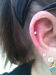 stud cartilage piercing helix piercing piercing magazine