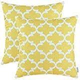 Amazon Yellow Decorative Pillows Inserts & Covers