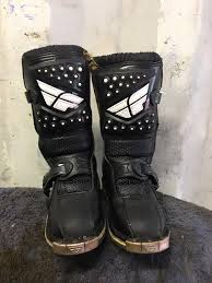 motocross boot sizing fly youth motocross boot size 10 u2022 20 00 picclick uk