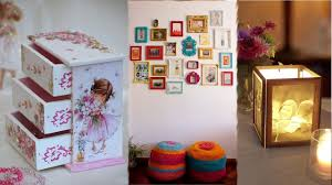 easy crafts for home decor diy room decor 18 easy crafts ideas at home for teenagers room