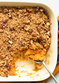 sweet potato casserole recipe simplyrecipes