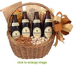 baskets for gifts guinness fan gift basket
