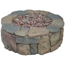 Gas Fire Pit Bowl Bond Manufacturing Petra 28 In Envirostone Fire Pit 68195bond