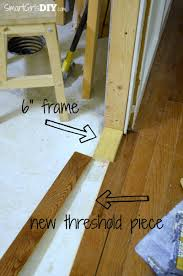 Laminate Flooring Door Threshold How To Install A Pocket Door Johnson Hardware 1510 Series