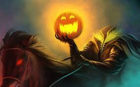 halloween anime backgrounds pumpkin head in the scary halloween night