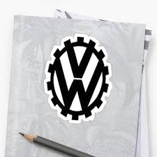 volkswagen logo black and white ww2 vw logo