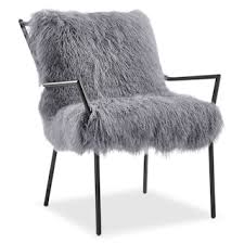 Fuzzy White Chair Living Room Chairs U0026 Chaises Value City Furniture Value City