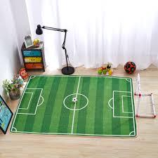 Children Rugs Football Green Carpet Carpet Vidalondon