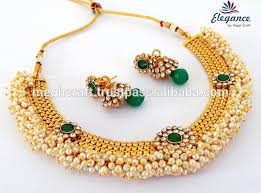 wholesale necklace set images Indian traditional pearl jewelry set wholesale pearl beaded jpg