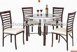 Glass Dining Table Set For Sale China Metal Chairs For Sale Recently Glass Dining Table And