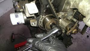 miata timing belt water pump and seals did it myself