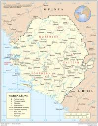 Nursing Compact States Map by Sierra Leone International Organization For Migration
