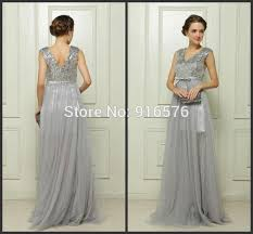 silver plus size bridesmaid dresses 2015 v neck silver gray sequin bridesmaid dresses plus size formal