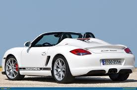 porsche boxster rear porsche boxster spyder underwhelms can bmw learn from it
