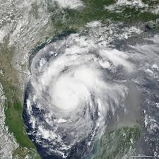view hurricane harvey from space is chilling