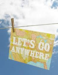 Let s Go Anywhere print by Katie Daisy Perfect for the wanderer