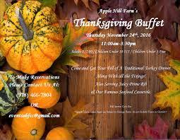 thanksgiving farm thanksgiving buffet u2013 apple hill farm