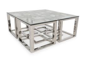 bernhardt soho luxe metal cocktail table mathis brothers furniture