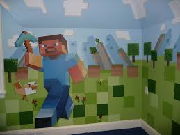 Minecraft Bedroom Decals by Minecraft Wall Decorations Design Ideas And Decor