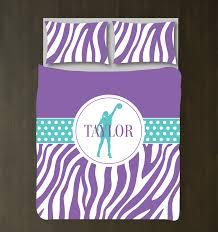 Green Bedding For Girls by Custom Basketball Zebra Print Bedding For Girls Duvet U2013 Shop