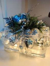 Decorative Glass Block Lights Clear Brick Vinyl White Christmas Lights U003d