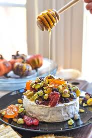 dried fruit and pistachio baked brie home made interest