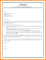9 consulting cover letter examples commerce invoice