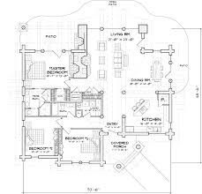 Derksen Cabin Floor Plans by 51 Open Floor Plans Log Home With Plans Main Floor Log Cottage