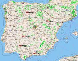 A Map Of Spain by Tourist Map Of Spain Free Download For Smartphones Tablets And
