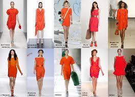 frills and thrills the orange dress trend