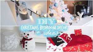 diy christmas bedroom decor ideas sassyjessie youtube